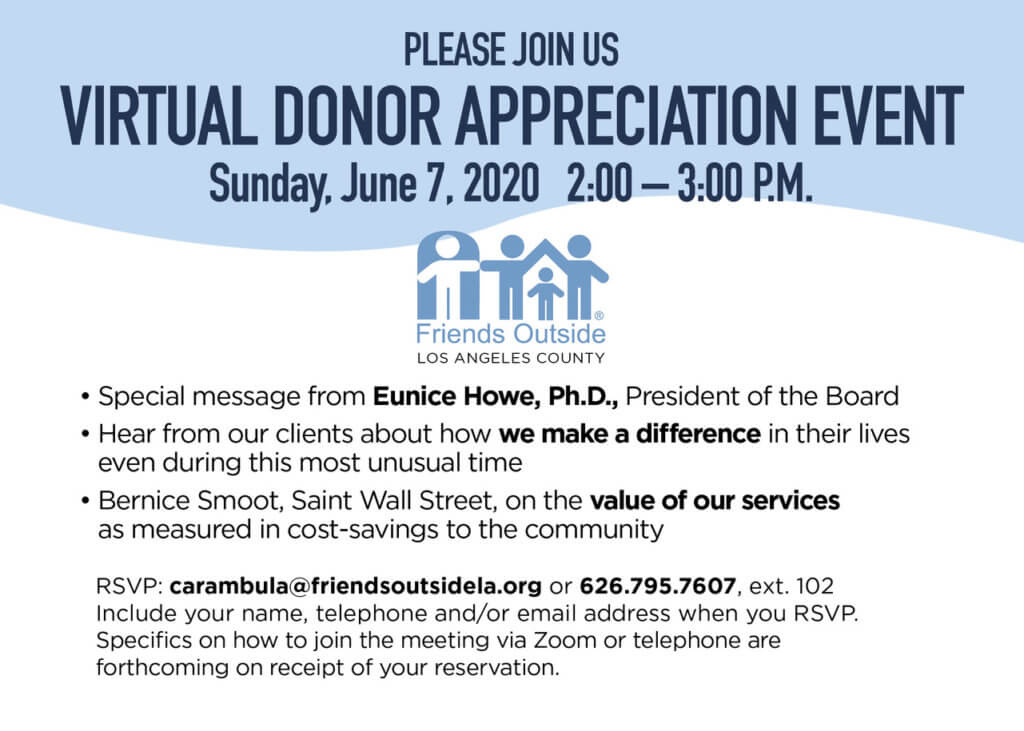 Virtual donor invite image